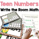 Teen Numbers Write the Room Math