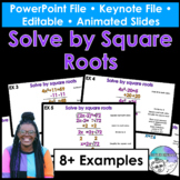 Solve by Square Roots PowerPoint/Keynote Presentations
