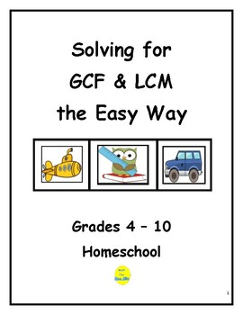 Solve for GCF & LCM the Easy Way!