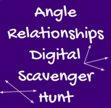 Solve for Missing Angles Scavenger Hunt