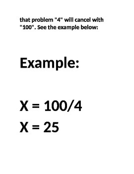 "Solve for ""X"" in a simpe Way"