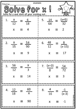 Solve for a variable(free)