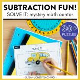 Solve it! Subtraction Center