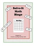 Solve-it Math Bingo Review Game