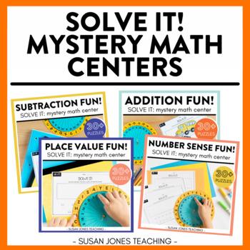 Solve it! Math Centers - The Bundle!