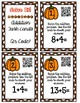 Solve it! November Addition Task Cards with QR Cards