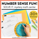 Solve it! Number Sense Center