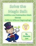 Solve the Magic Ball (Addition & Subtraction Game)