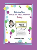 Solve the Mystery Word Activity