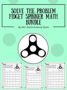 Solve the Problem Fidget Spinner Bundle