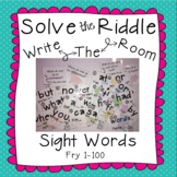Sight Word Solve the Riddle - Fry 100 Words
