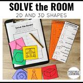 Solve the Room 2D 3D Shapes