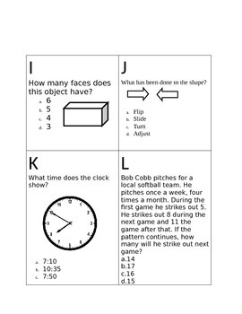 Solve the Room 3rd Grade Math