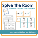 Solve the Room | Adding 10 to Make Teen Numbers