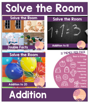 Solve the Room: Addition
