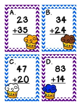 Solve the Room Addition With & Without Regrouping