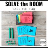Solve the Room Base Ten 1-40