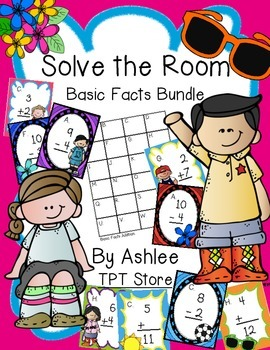 Solve the Room Basic Facts Bundle