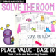 Solve the Room - February BUNDLE : A Collection of 4 Math Center Task Card Sets