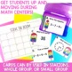 Solve the Room First Grade Yearlong Growing MEGA Bundle- Math Center Task Cards