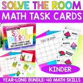 Solve the Room Kindergarten Yearlong MEGA Bundle- Math Cen