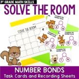 Solve the Room - Number Bonds: A Math Center Task Card Set