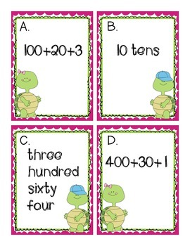 Solve the Room Place Value to 1,000
