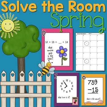 Solve the Room {Spring}