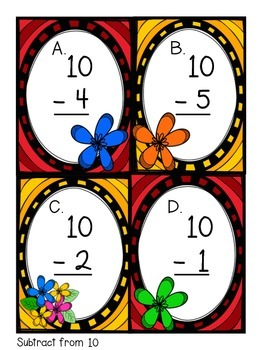 Solve the Room Subtract from 10