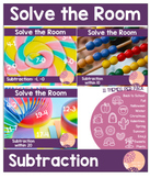 Solve the Room: Subtraction