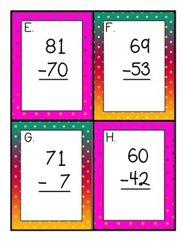 Solve the Room Subtraction with and without Regrouping