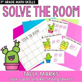 Solve the Room- Tally Marks: A Math Center Task Card Set