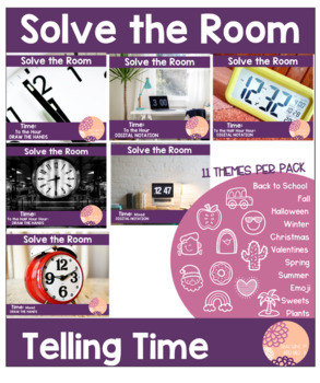 Solve the Room: Telling Time