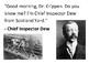 Solve the message puzzle about Dr Crippen