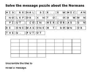 Solve the message puzzle about the Doomsday (Domesday) Book