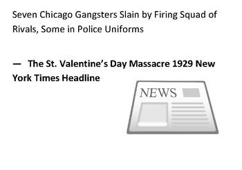 Solve the message puzzle about the Saint Valentines Day Massacre 1929