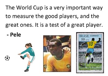 Solve the message puzzle about the World Cup