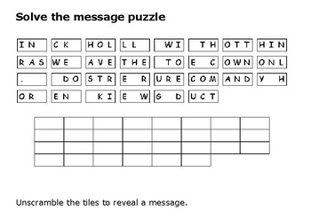 Solve the message puzzle from Adolf Hitler about Operation Barbarossa