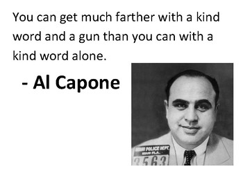 Solve the message puzzle from Al Capone