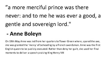 Solve the message puzzle from Anne Boleyn - Her Execution
