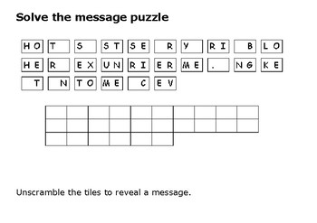 Solve the message puzzle from Babe Ruth