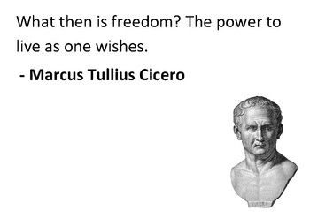 Solve the message puzzle from Cicero