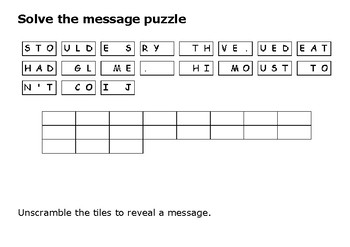 Solve the message puzzle from Claudette Colvin