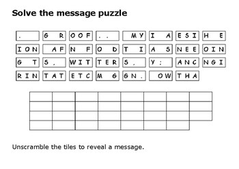 Solve the message puzzle from Isambard Kingdom Brunel