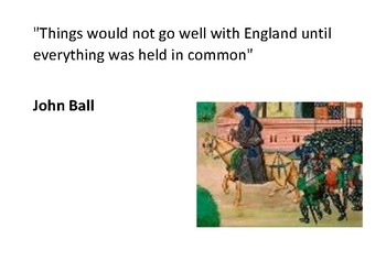 Solve the message puzzle from John Ball Peasants Revolt