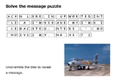 Solve the message puzzle from John Glenn