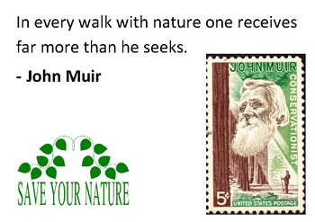 Solve the message puzzle from John Muir