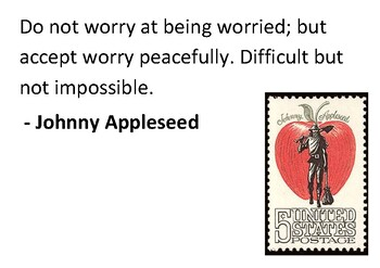 Solve the message puzzle from Johnny Appleseed