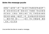 Solve the message puzzle from Louis Riel