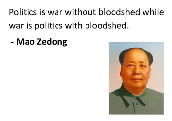 Solve the message puzzle from Mao Zedong